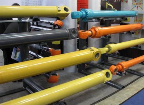 工程机械油缸变色原因